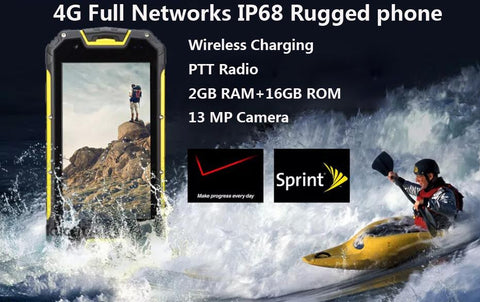 $$$SAVE$$$ Rugged Waterproof Android Phone 5.1 PTT Radio IP68 GPS 4G FDD LTE CDMA