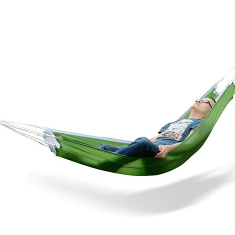 1 Person Leisure Parachute Hammock for Camping or Travel made from Parachute Fabric
