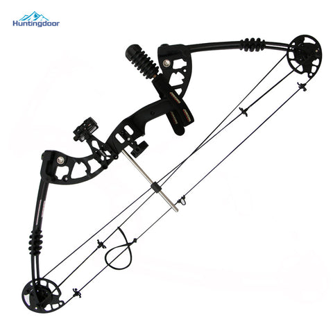 Black - Fishing or Hunting Quality Compound Bow - 30-60lbs