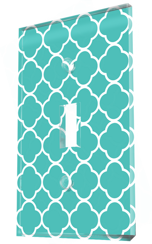 Four Folds Green Teal Patterns