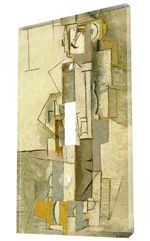 Harlequinesque Personage 1913: Pablo Picasso