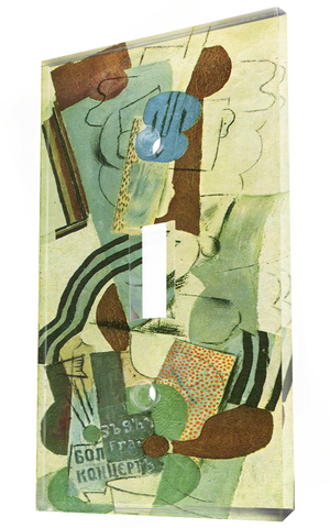 Woman With A Guitar 1913: Pablo Picasso