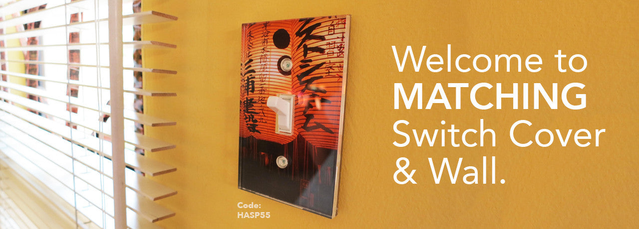 Welcome to Matching Switch Cover & Wall.