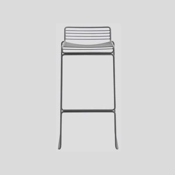 Hee Bar Stool Grey