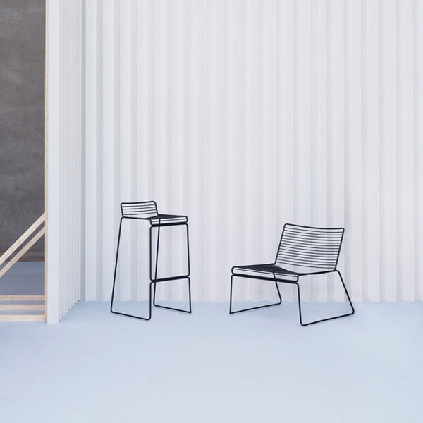 Hee Bar Stool Black