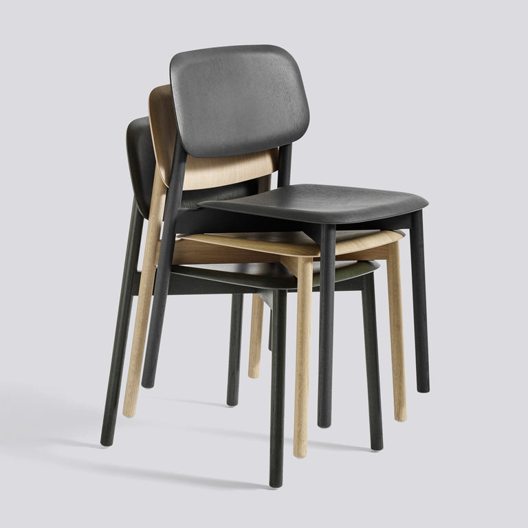 desk chair wood. Soft Edge Chairs Wood Frame Stacked Desk Chair