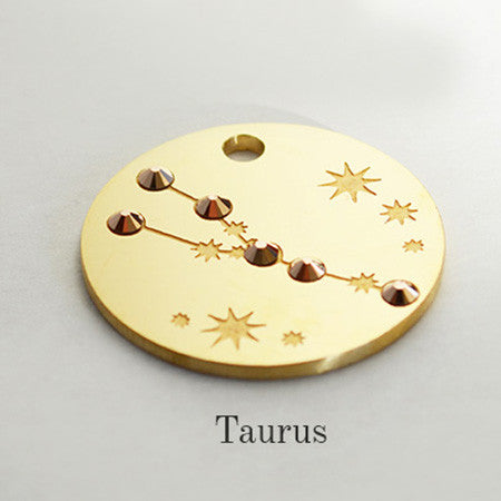 Taurus Star-sign PugPendants for luxury dogs from Canine Chic of London