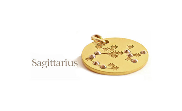'Astrological' Starsign PugPendants.