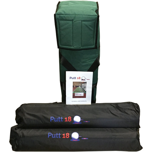 Putt18 For Australian Schools - (3 Mat Kit) NO PUTTERS - NO GOLF BALLS