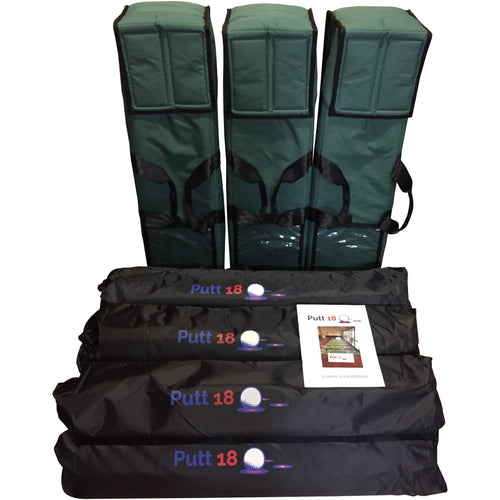 Putt18 For Australian Schools - (6 Mat Kit) NO PUTTERS - NO GOLF BALLS