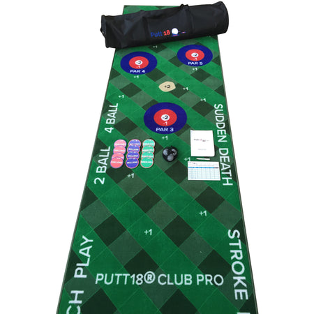 Putt18 Club Pro Putting Mat