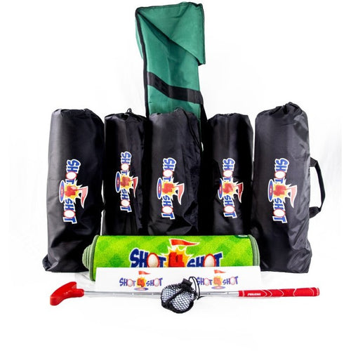 Shot 4 Shot School Putting Kit - (6 Mat Kit)