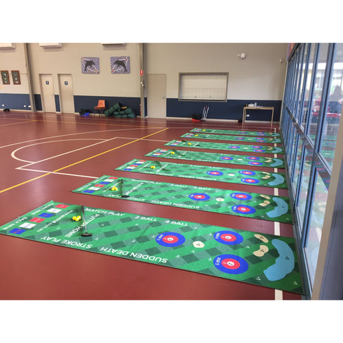 Putt18 For Australian Schools - (9 Mat Kit)