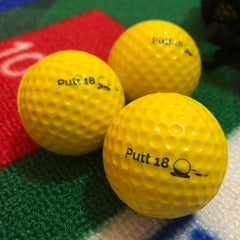 Training Balls by PUTT18-Balls-Putt18