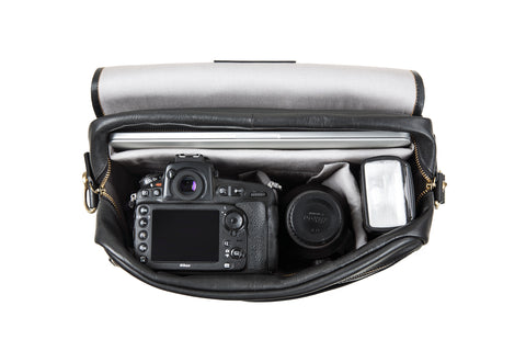 Stylish and organised camera bags