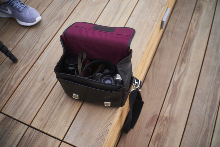 best small camera messenger bag