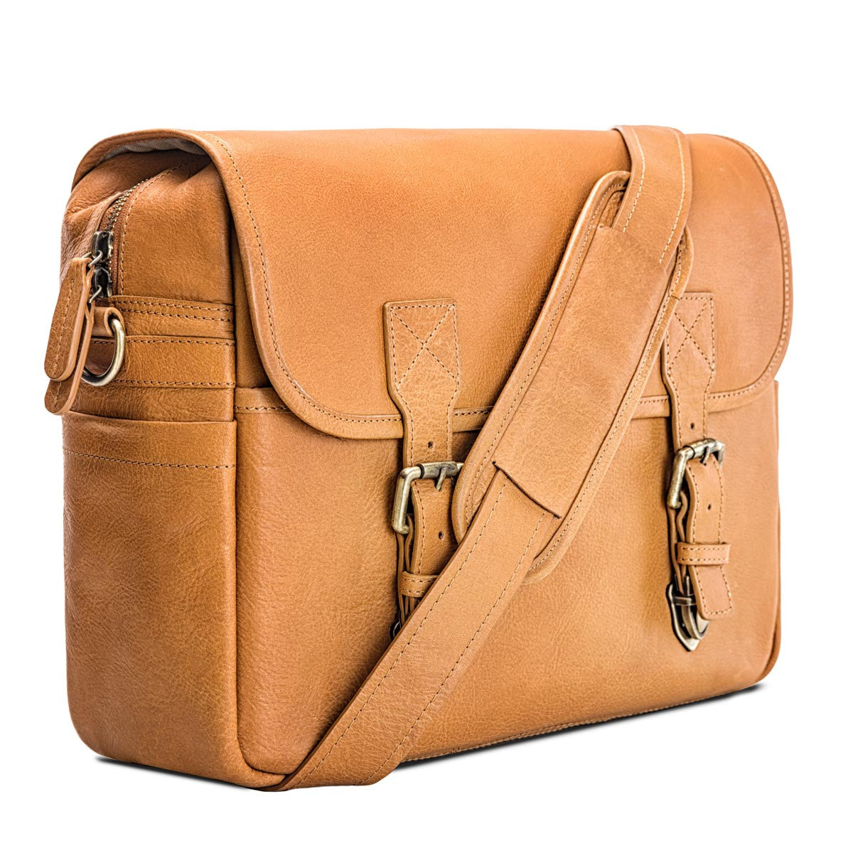 2b30ca6cafe116 ... Blackforest bags; Every day bag, travel bag, slr camera messenger bag  in Tan leather by Blackforest; Rimo i ...