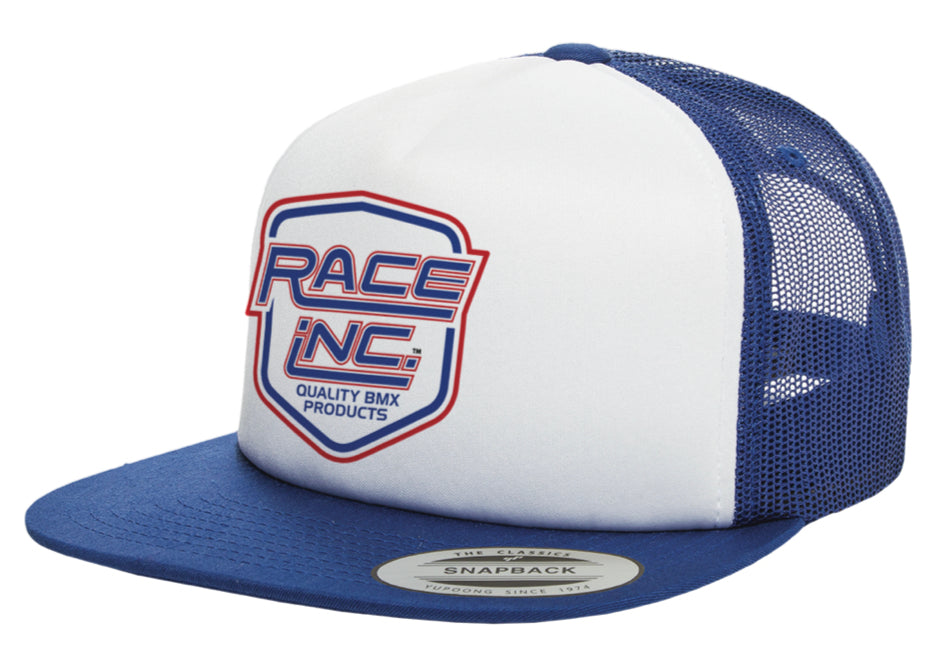 Bob Haro Design / Race Inc. Logo Shield Foam Trucker Hat