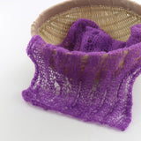Clearance Soft Hollowed-out Stretchy Knit Wrap Newborn Photo Props - Don&Judy Newborn&Maternity photography props