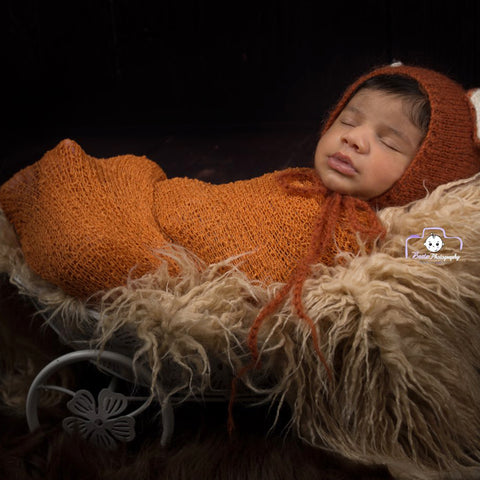 Soft Stretchy Knit Wrap Newborn Photo Outfits - Don&Judy Newborn&Maternity photography props