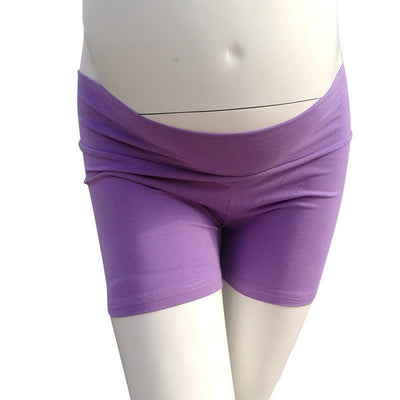 Stretchy Lycra Fabric Maternity Photo Shorts Maternity Shorts for Photoshoot 9 colors - Don&Judy Newborn&Maternity photography props