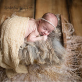 Wraps Receiving Baby Photo Blankets Newborn Photography Props Acrylic Swaddle - Don&Judy Newborn&Maternity photography props
