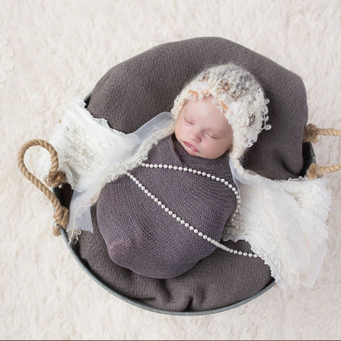 10pcs/Lot Soft Stretchy Knit Wrap Newborn Photo Outfits - Don&Judy Newborn&Maternity photography props