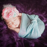 10pcs/Lot Soft Stretchy Knit Wrap for Newborn or Nubble Photography Props  Maternity Scarf and Women Shawl - Don&Judy Newborn&Maternity photography props