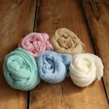 Stretchy Wraps Knitted Newborn Wraps Props Newborn Photo Props 5pcs/Lot - Don&Judy Newborn&Maternity photography props
