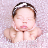 150x150 Knit Bobble Wraps Small Ball Wraps Newborn Baby Photography Backdrops - Don&Judy Newborn&Maternity photography props