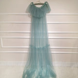 Soft Tulle Maternity Photography Dress One size fit all accept customize Maternity Photography Gown