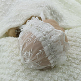 Handmade Lace Bonnet with Pearl Style Hat Newborn Photo Props - Don&Judy Newborn&Maternity photography props
