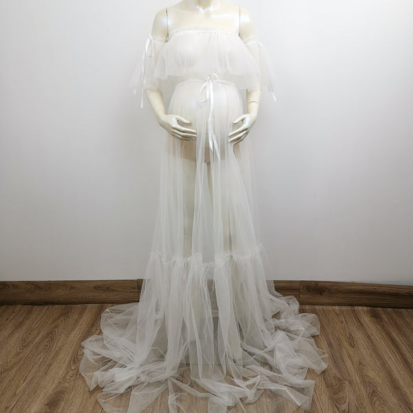 Soft Tulle Maternity Photography gown One size fit all  Maternity Photography Dress Evening dress Party Dress Tulle dress