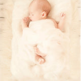 Handcraft Comfortable Rustic Woolly Layer Blanket for Newborn Photography Props - Don&Judy Newborn&Maternity photography props