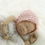 Handcraft Knit Mini Ball Baby Bonnet Newborn Photo Outfits - Don&Judy Newborn&Maternity photography props