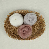 Stretchy Soft Newborn Wrap Knitted Acrylic Mohair Wraps Newborn Photography Props 60x40cm - Don&Judy Newborn&Maternity photography props