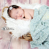 Newborn Baby Photography Props Headbands Flower for Baby Shower - Don&Judy Newborn&Maternity photography props