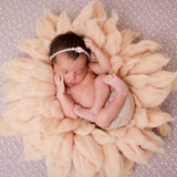 Newborn Props for Photography Wool Blanket Baby Photo Basket Props - Don&Judy Newborn&Maternity photography props