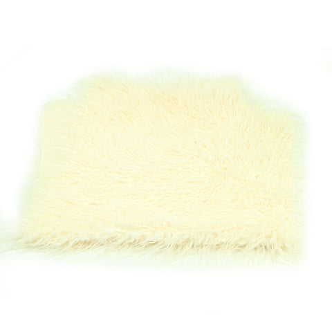 Soft Long Pile Mongolia Faux Fur Newborn Props Photography 75 x 100 cm - Don&Judy Newborn&Maternity photography props