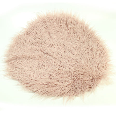Soft Long Pile Mongolia Faux Fur Newborn Photography Blanket - Don&Judy Newborn&Maternity photography props
