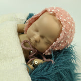 Handcraft Knit Mini Ball Newborn Baby Bonnet - Don&Judy Newborn&Maternity photography props