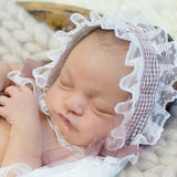 Handmade plaid/lace headband Hair Decoration Newborn Photo Outfits - Don&Judy Newborn&Maternity photography props