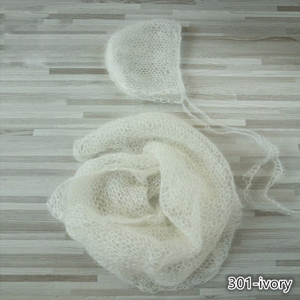 60x30cm Handknit Wraps Set Newborn Photo Props - Don&Judy Newborn&Maternity photography props