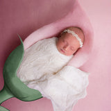 Stretch Embossing Chiffon Wraps Newborn Photo Props - Don&Judy Newborn&Maternity photography props