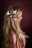 Boho Floral Women Headpiece Flower Maternity Hairpin Maternity Photography Accessories - Don&Judy Newborn&Maternity photography props