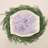 50x40cm Wool Handspun Chunky Knitted Newborn Blanket for Photography Newborn Photo Props - Don&Judy Newborn&Maternity photography props