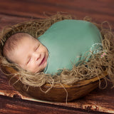 Newborn Photography Basket Jute Fillers Newborn Photography Backdrop Newborn Photography Props - Don&Judy Newborn&Maternity photography props