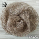 Hand Crochet Newborn Wrap Super Soft Mohair Wraps Newborn Props Photography 60x30cm - Don&Judy Newborn&Maternity photography props