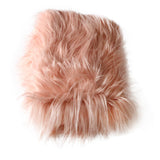 Clearance 75x50cm  Soft Long Pile Mongolia Faux Fur Newborn Photography Blanket - Don&Judy Newborn&Maternity photography props