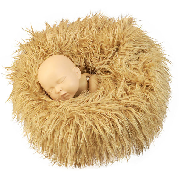 Newborn Nest Prop Newborn Faux Fur Nest Newborn Posing Circle Prop Newborn Photo Prop - Don&Judy Newborn&Maternity photography props